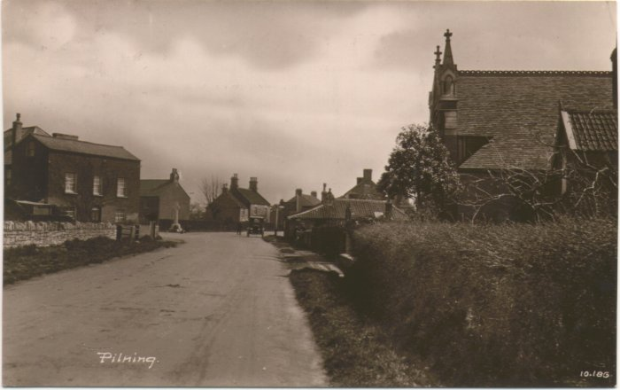 1924 view of pilning - Click on picture for 2004 view