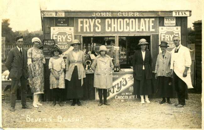 Severn Beach shop 1923