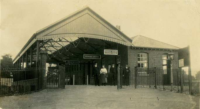 Severn Beach station 1920's