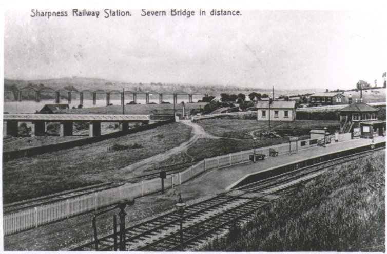 Sharpness Railway Station & Bridge